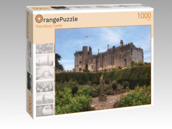 """Puzzle Motiv """"Thornbury Castle"""" - Puzzle-Schachtel zu 1000 Teile Puzzle"""