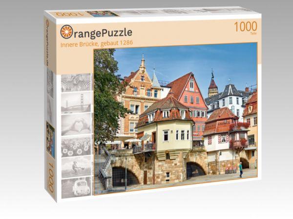 "Puzzle Motiv ""Innere Brücke, gebaut 1286"" - Puzzle-Schachtel zu 1000 Teile Puzzle"