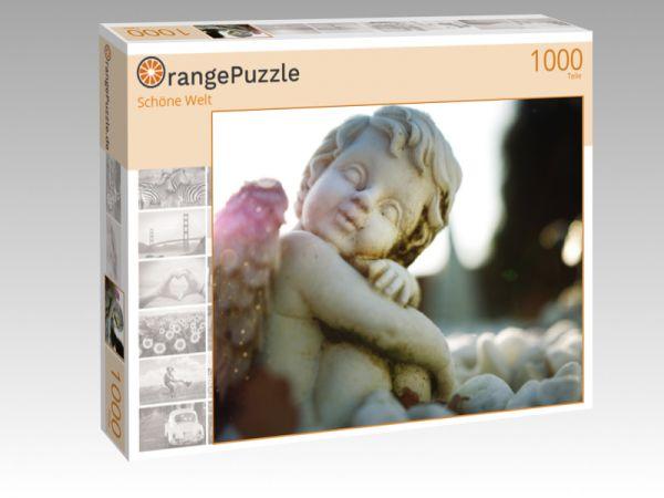 """Puzzle Motiv """"Schöne Welt"""" - Puzzle-Schachtel zu 1000 Teile Puzzle"""