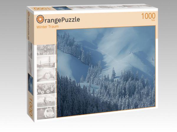 "Puzzle Motiv ""Winter Traum"" - Puzzle-Schachtel zu 1000 Teile Puzzle"
