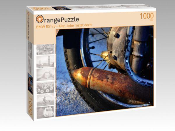 """Puzzle Motiv """"BMW R51/3 - Alte Liebe rostet doch"""" - Puzzle-Schachtel zu 1000 Teile Puzzle"""