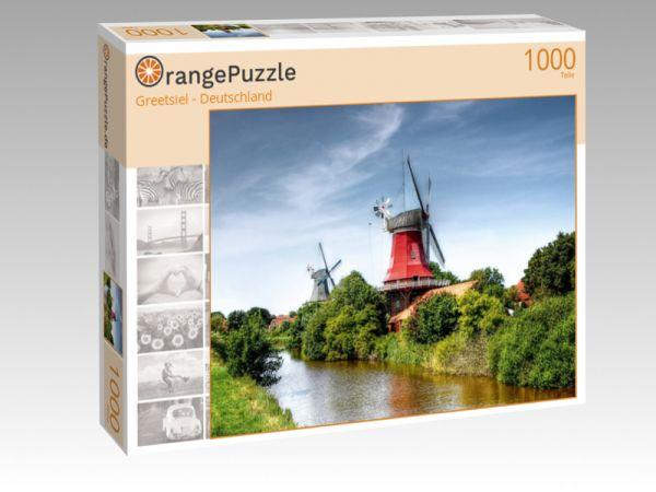 """Puzzle Motiv """"Greetsiel - Deutschland"""" - Puzzle-Schachtel zu 1000 Teile Puzzle"""