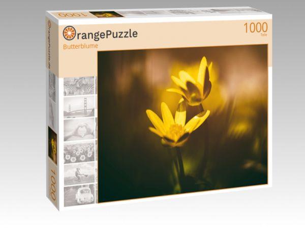 """Puzzle Motiv """"Butterblume"""" - Puzzle-Schachtel zu 1000 Teile Puzzle"""