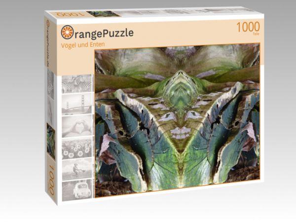 "Puzzle Motiv ""Vögel und Enten"" - Puzzle-Schachtel zu 1000 Teile Puzzle"