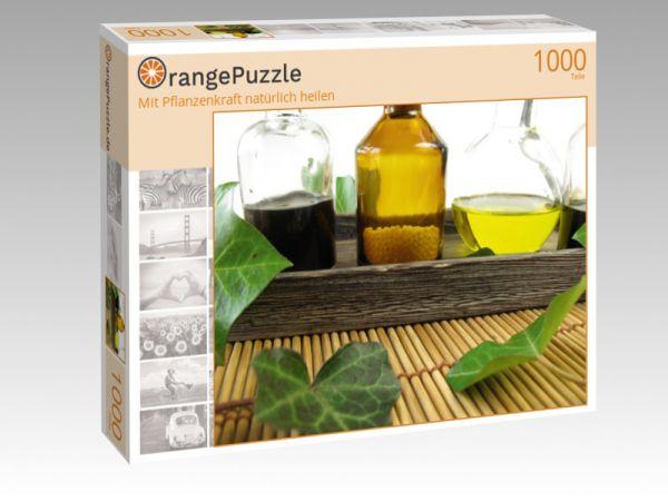 """Puzzle Motiv """"Mit Pflanzenkraft natürlich heilen"""" - Puzzle-Schachtel zu 1000 Teile Puzzle"""