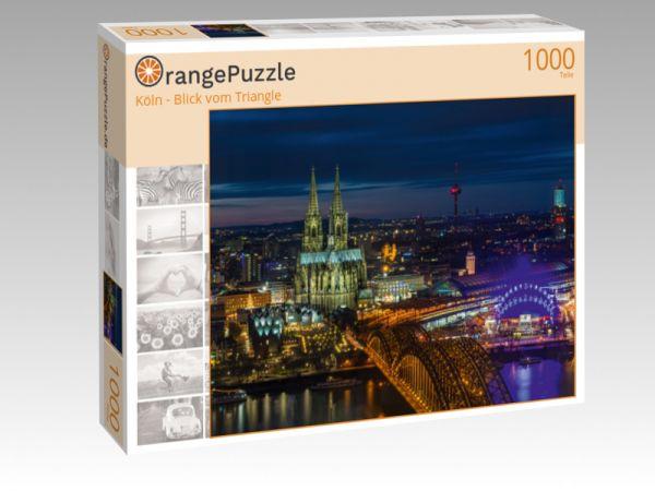 "Puzzle Motiv ""Köln - Blick vom Triangle"" - Puzzle-Schachtel zu 1000 Teile Puzzle"