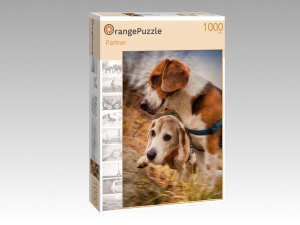 """Puzzle Motiv """"Partner"""" - Puzzle-Schachtel zu 1000 Teile Puzzle"""