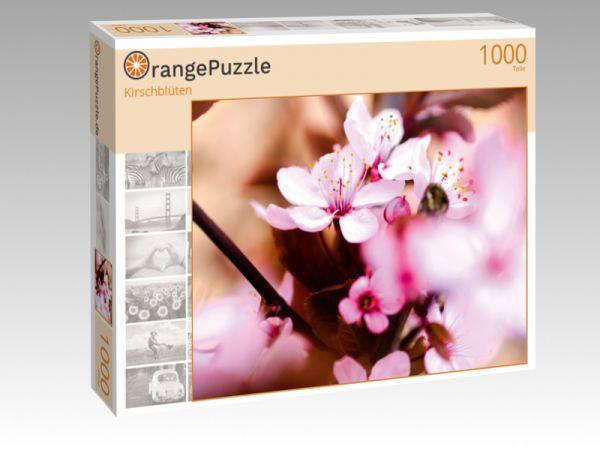 "Puzzle Motiv ""Kirschblüten"" - Puzzle-Schachtel zu 1000 Teile Puzzle"