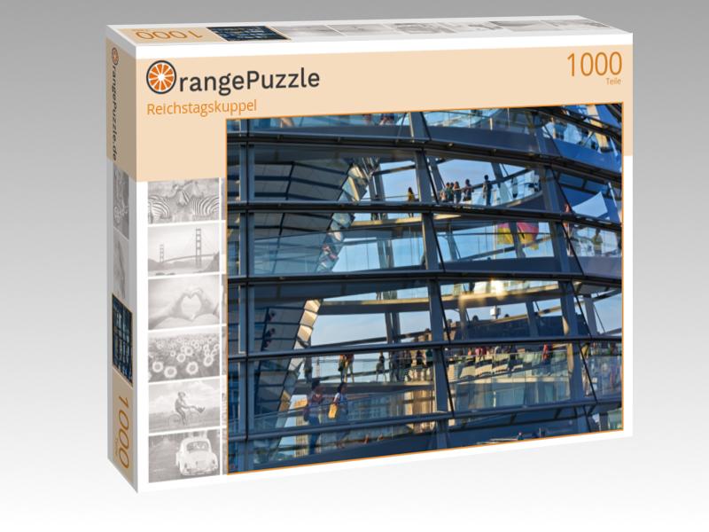 Puzzlemotiv Reichstagskuppel