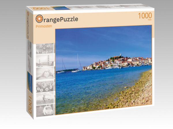 """Puzzle Motiv """"Primosten"""" - Puzzle-Schachtel zu 1000 Teile Puzzle"""