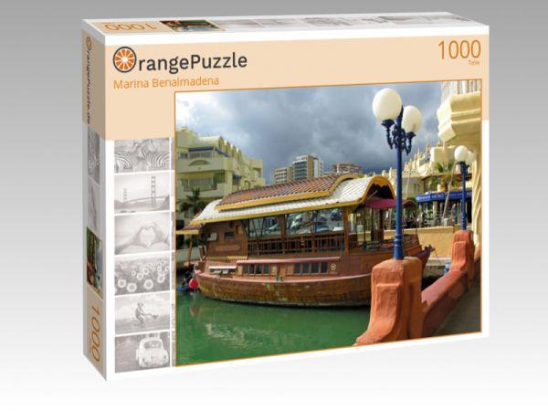 "Puzzle Motiv ""Marina Benalmadena"" - Puzzle-Schachtel zu 1000 Teile Puzzle"