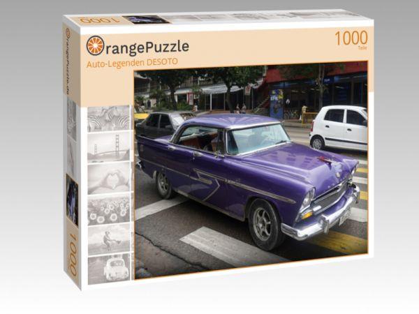 """Puzzle Motiv """"Auto-Legenden DESOTO"""" - Puzzle-Schachtel zu 1000 Teile Puzzle"""