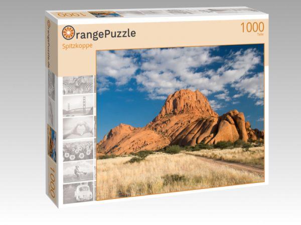 """Puzzle Motiv """"Spitzkoppe"""" - Puzzle-Schachtel zu 1000 Teile Puzzle"""