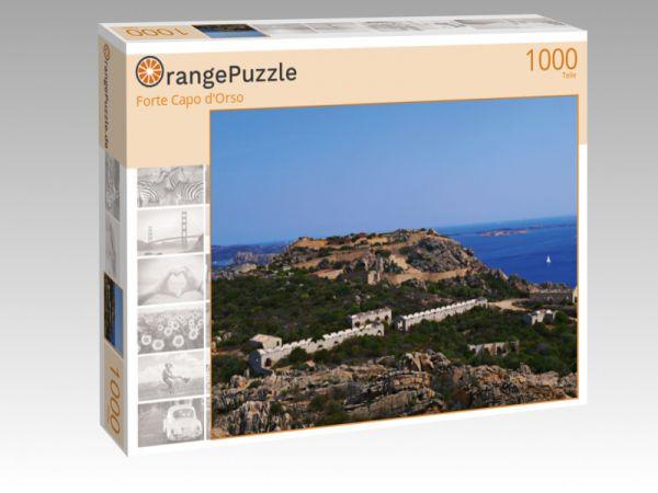 """Puzzle Motiv """"Forte Capo d'Orso"""" - Puzzle-Schachtel zu 1000 Teile Puzzle"""
