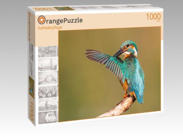 """Puzzle Motiv """"Gefiederpflege"""" - Puzzle-Schachtel zu 1000 Teile Puzzle"""