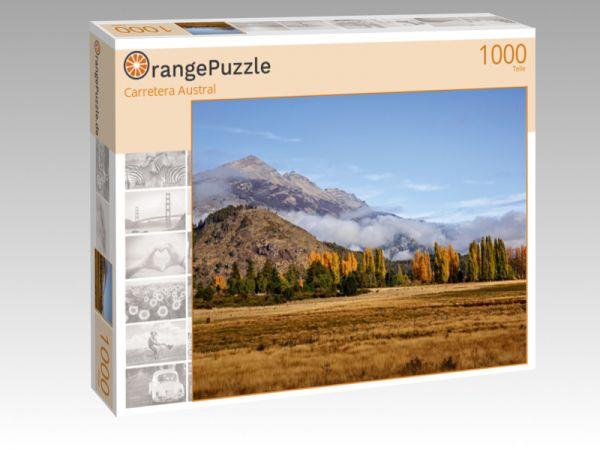 """Puzzle Motiv """"Carretera Austral"""" - Puzzle-Schachtel zu 1000 Teile Puzzle"""