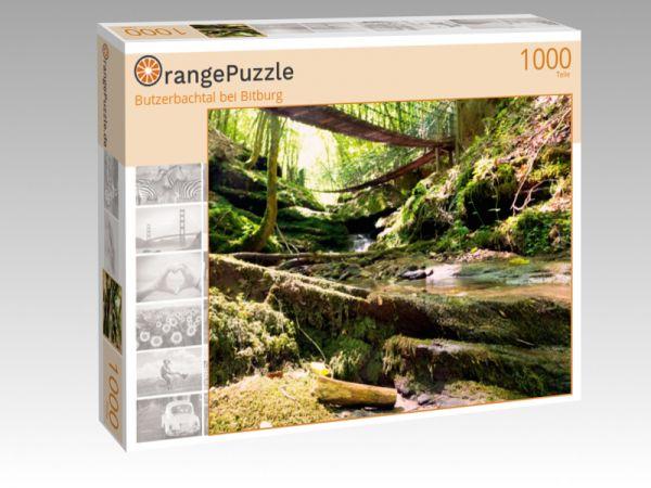 """Puzzle Motiv """"Butzerbachtal bei Bitburg"""" - Puzzle-Schachtel zu 1000 Teile Puzzle"""