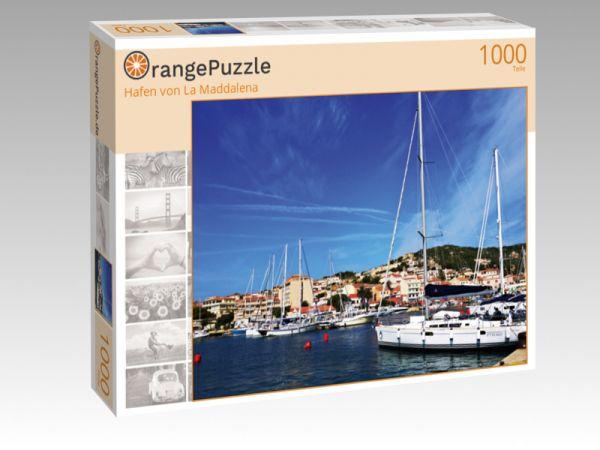 """Puzzle Motiv """"Hafen von La Maddalena"""" - Puzzle-Schachtel zu 1000 Teile Puzzle"""