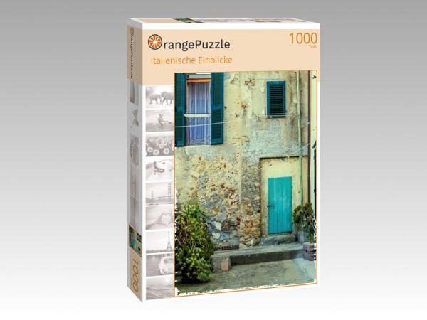 """Puzzle Motiv """"Italienische Einblicke"""" - Puzzle-Schachtel zu 1000 Teile Puzzle"""
