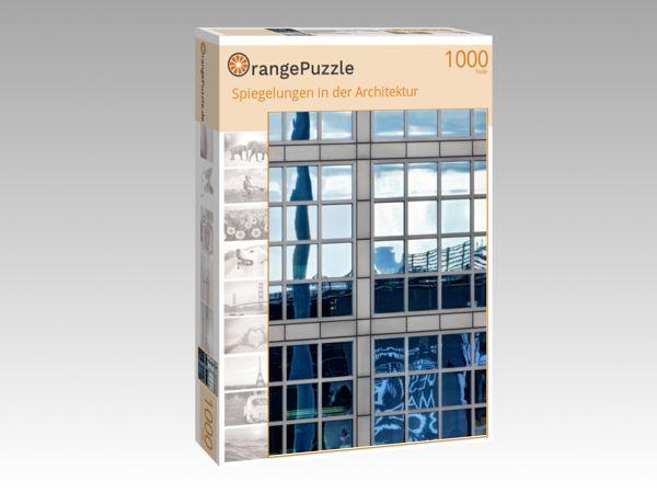 """Puzzle Motiv """"Spiegelungen in der Architektur"""" - Puzzle-Schachtel zu 1000 Teile Puzzle"""