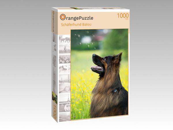 """Puzzle Motiv """"Schäferhund Balou"""" - Puzzle-Schachtel zu 1000 Teile Puzzle"""