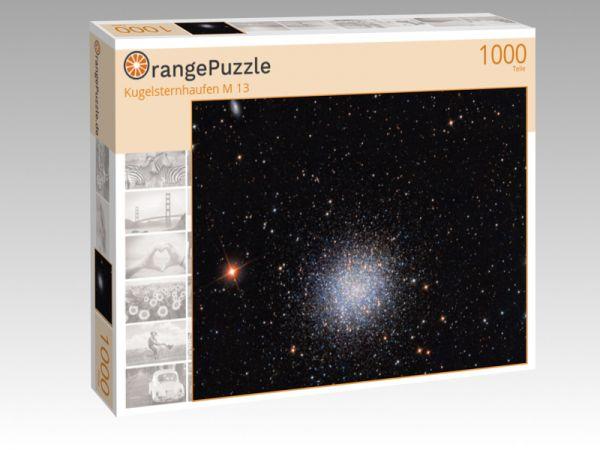 "Puzzle Motiv ""Kugelsternhaufen M 13"" - Puzzle-Schachtel zu 1000 Teile Puzzle"