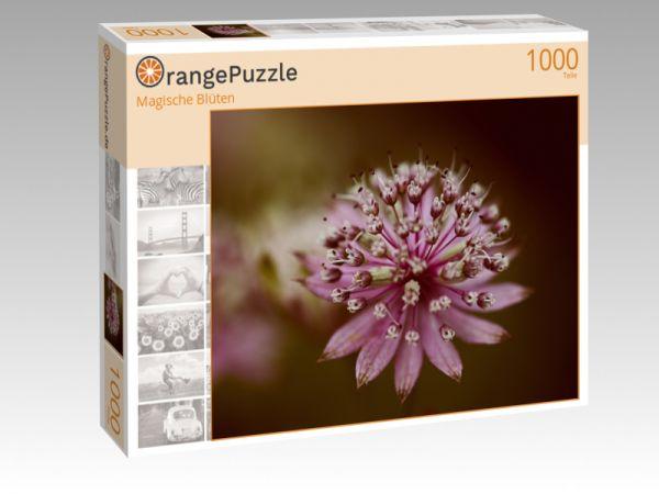 "Puzzle Motiv ""Magische Blüten"" - Puzzle-Schachtel zu 1000 Teile Puzzle"