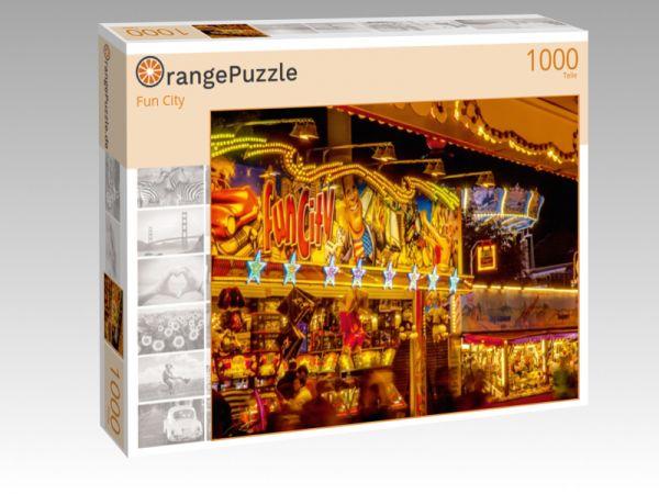 """Puzzle Motiv """"Fun City"""" - Puzzle-Schachtel zu 1000 Teile Puzzle"""