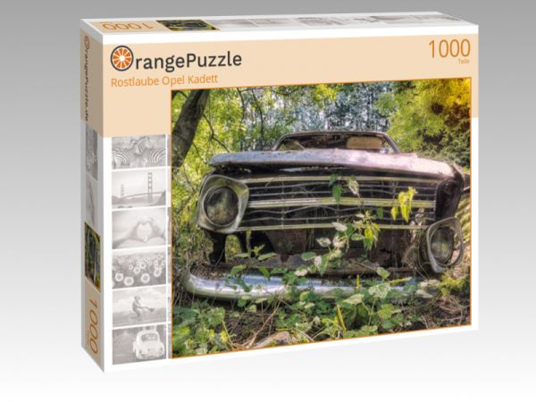 "Puzzle Motiv ""Rostlaube Opel Kadett"" - Puzzle-Schachtel zu 1000 Teile Puzzle"
