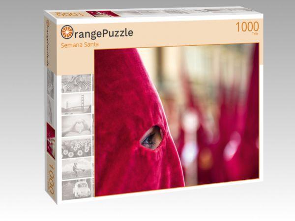 """Puzzle Motiv """"Semana Santa"""" - Puzzle-Schachtel zu 1000 Teile Puzzle"""