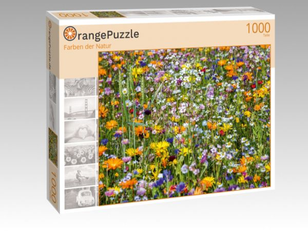 "Puzzle Motiv ""Farben der Natur"" - Puzzle-Schachtel zu 1000 Teile Puzzle"