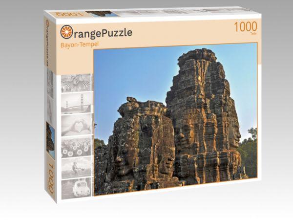 """Puzzle Motiv """"Bayon-Tempel"""" - Puzzle-Schachtel zu 1000 Teile Puzzle"""