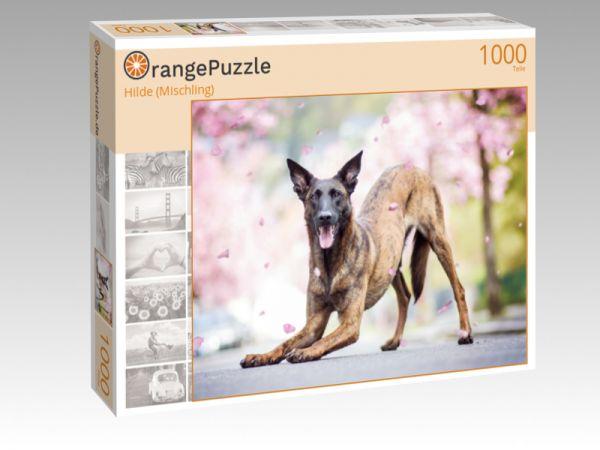 "Puzzle Motiv ""Hilde (Mischling)"" - Puzzle-Schachtel zu 1000 Teile Puzzle"
