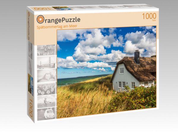 """Puzzle Motiv """"Spätsommertag am Meer"""" - Puzzle-Schachtel zu 1000 Teile Puzzle"""