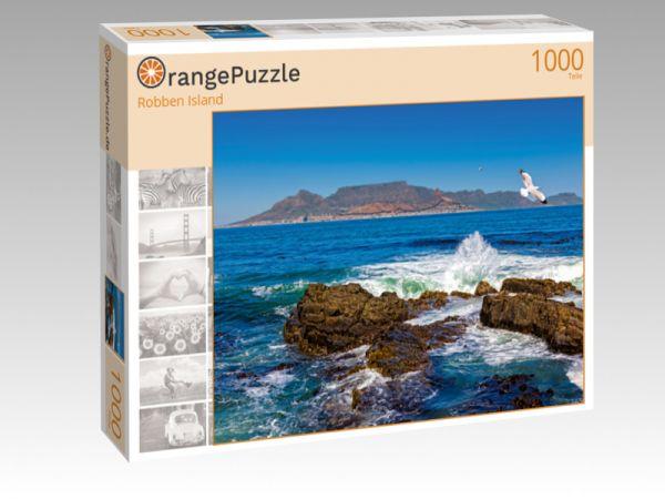 "Puzzle Motiv ""Robben Island"" - Puzzle-Schachtel zu 1000 Teile Puzzle"