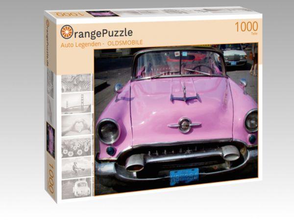 """Puzzle Motiv """"""""Auto Legenden -  OLDSMOBILE"""""""" - Puzzle-Schachtel zu 1000 Teile Puzzle"""