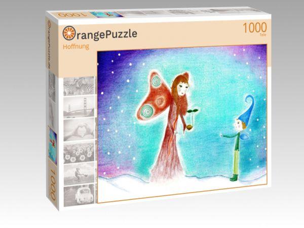 "Puzzle Motiv ""Hoffnung"" - Puzzle-Schachtel zu 1000 Teile Puzzle"