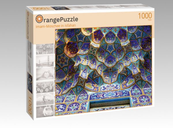 "Puzzle Motiv ""Imam-Moschee in Isfahan"" - Puzzle-Schachtel zu 1000 Teile Puzzle"