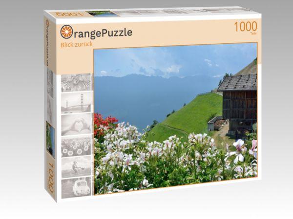 """Puzzle Motiv """"Blick zurück"""" - Puzzle-Schachtel zu 1000 Teile Puzzle"""