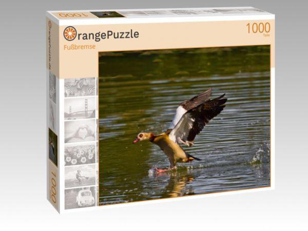 """Puzzle Motiv """"Fußbremse"""" - Puzzle-Schachtel zu 1000 Teile Puzzle"""