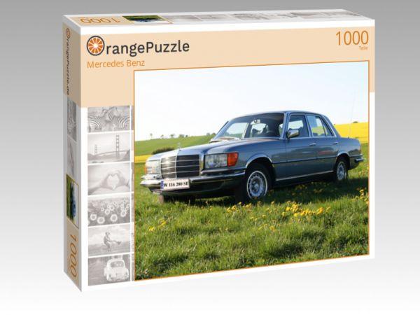 """Puzzle Motiv """"Mercedes Benz"""" - Puzzle-Schachtel zu 1000 Teile Puzzle"""