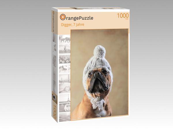 """Puzzle Motiv """"Digger, 7 Jahre"""" - Puzzle-Schachtel zu 1000 Teile Puzzle"""