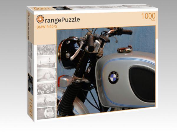"""Puzzle Motiv """"BMW R 60/5"""" - Puzzle-Schachtel zu 1000 Teile Puzzle"""