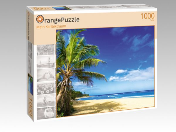 """Puzzle Motiv """"Mein Karibiktraum"""" - Puzzle-Schachtel zu 1000 Teile Puzzle"""