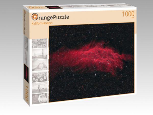 "Puzzle Motiv ""Kalifornianebel"" - Puzzle-Schachtel zu 1000 Teile Puzzle"