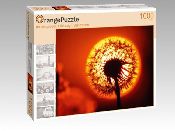 """Puzzle Motiv """"Inconspicuous Beauty - Dandelion"""" - Puzzle-Schachtel zu 1000 Teile Puzzle"""