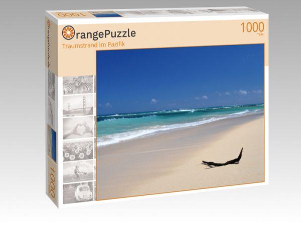 """Puzzle Motiv """"Traumstrand im Pazifik"""" - Puzzle-Schachtel zu 1000 Teile Puzzle"""