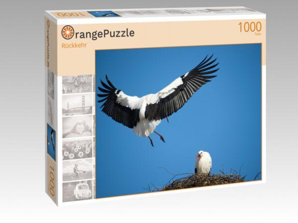 """Puzzle Motiv """"Rückkehr"""" - Puzzle-Schachtel zu 1000 Teile Puzzle"""