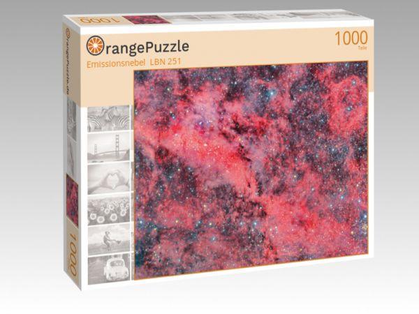 """Puzzle Motiv """"Emissionsnebel  LBN 251"""" - Puzzle-Schachtel zu 1000 Teile Puzzle"""