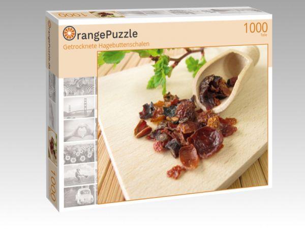 """Puzzle Motiv """"Getrocknete Hagebuttenschalen"""" - Puzzle-Schachtel zu 1000 Teile Puzzle"""